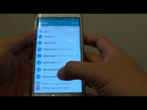 Samsung Galaxy S6 Edge: How to Find the Serial Number