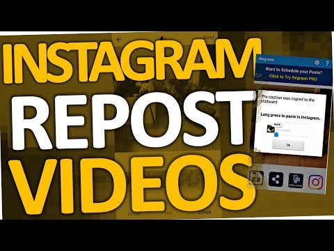 How to post other peoples videos on Instagram (Repost | Android)