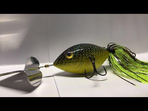 Making Custom Buzz bait Plastic Fishing Lures