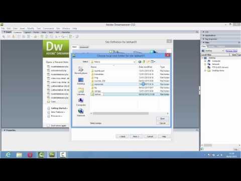 Manage Site [Dreamweaver CS3]