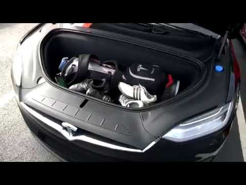 Tesla Model X Golf Club Storage / Road Trip