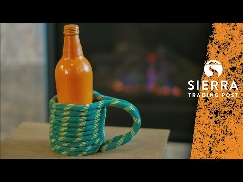 Can Cooler - DIY Climbing Rope Project