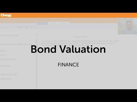 Bond Valuation | Finance | Chegg Tutors