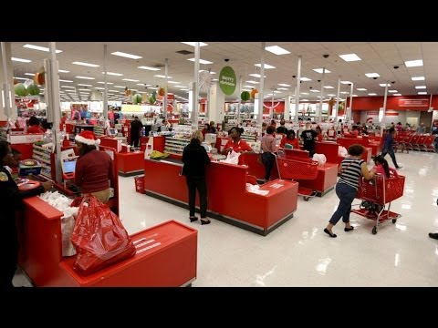 Forty million Target shoppers' credit card data stolen in cyber breach