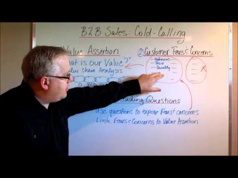 B2B Sales Cold Calling: Three Simple Steps
