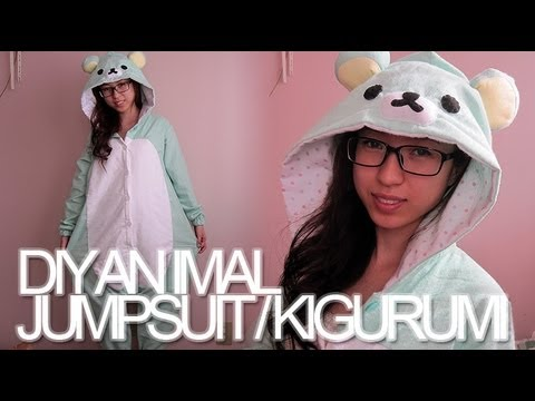 DIY: Animal Jumpsuit / Costume / Onesie / Kigurumi