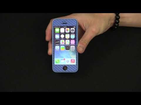 Slickwraps iPhone 5C Carbon Series Review