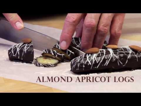 Almond Apricot Logs