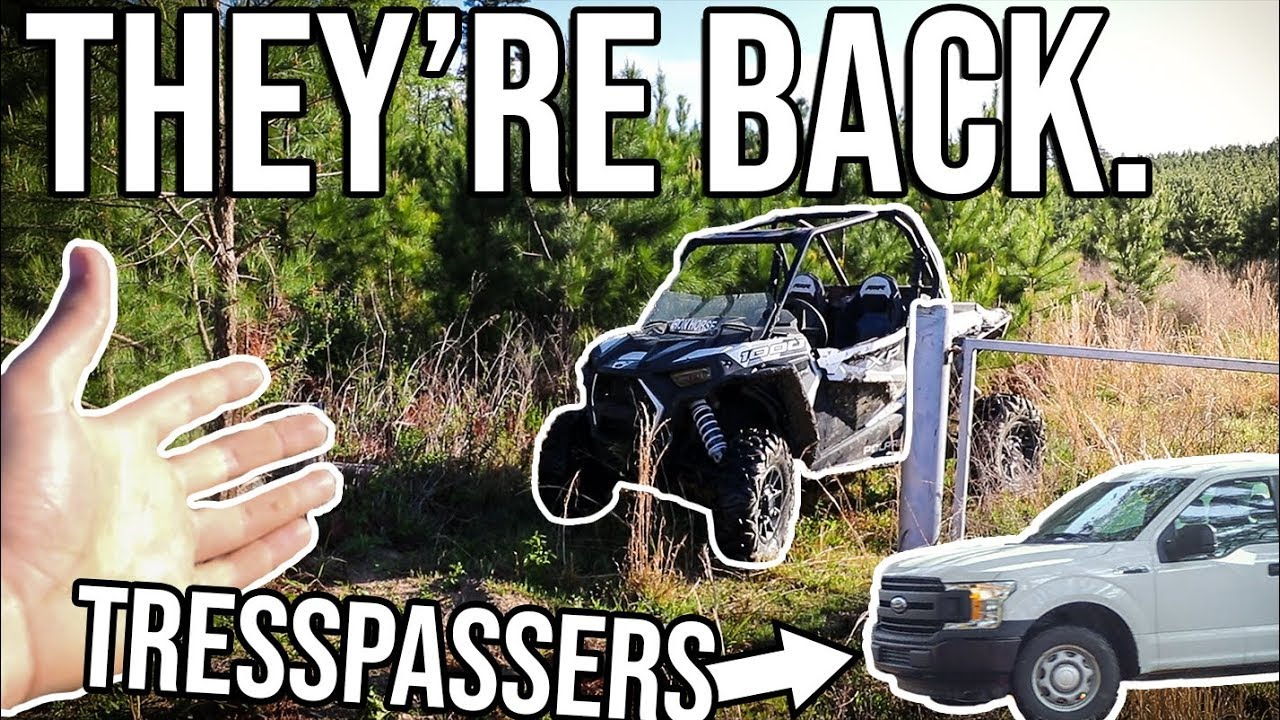 THE TRESPASSERS ARE BACK! *Property DAMAGE*