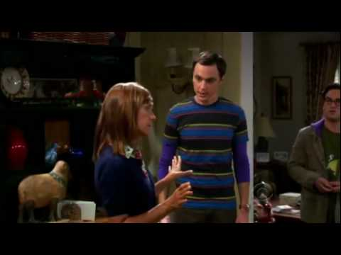 The Big Bang Theory - Evolution versus Creationism (funny)