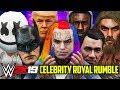 WWE 2K19 30 MAN CELEBRITY ROYAL RUMBLE