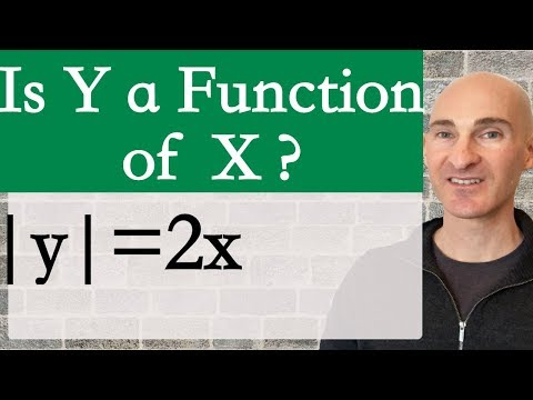 Is y a Function of x?