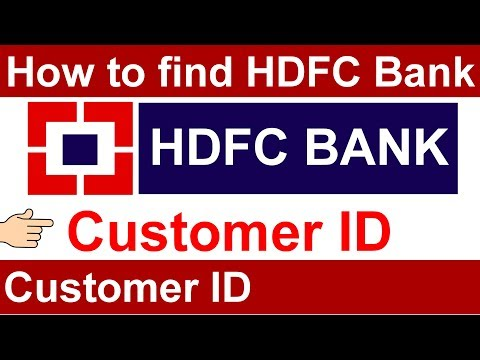 How to Get Customer ID of HDFC Bank | HDFC Customer ID