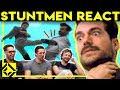 Stuntmen React To Bad Great Hollywood Stunts