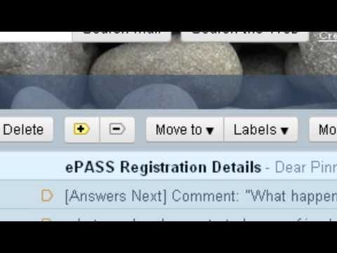 ePass scholarship student bank account Confirmation