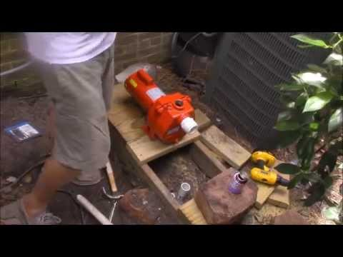 How to Install a Shallow Well Pump