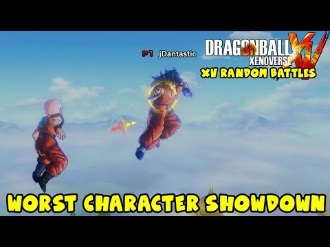 Dragon Ball Xenoverse Random Battles: WORST CHARACTERS ONLY!!