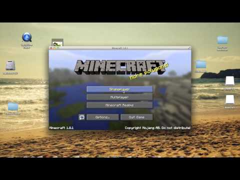 how to change your skin in minecraft! 1.8.1 working 2015