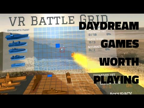 Google Daydream Gameplay: VR Battle Grid