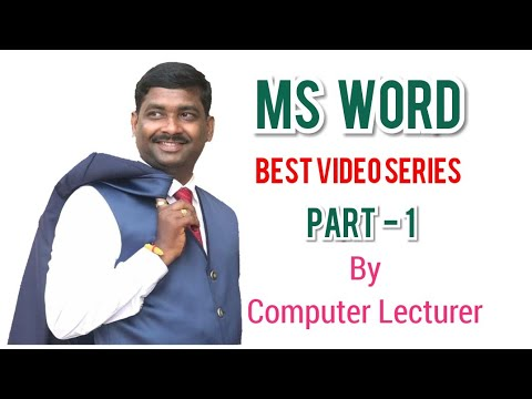 MS Word 2016 in hindi part-1 | Home tab | Clip board group