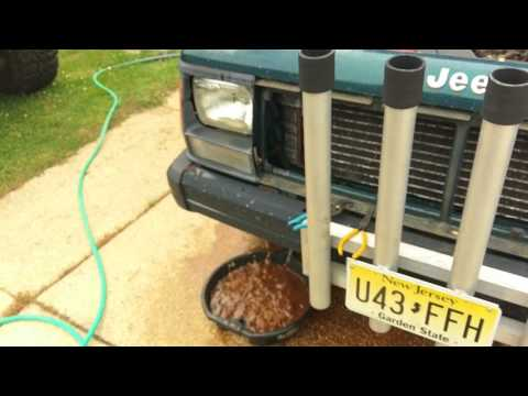 95 Cherokee Cooling System Flush and Starter Replacement