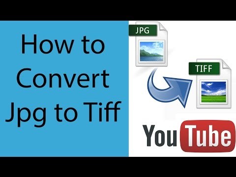 How to convert jpg to tiff format in paint on windows