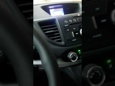 How to pair a ANDROID phone via Bluetooth to a CR-V