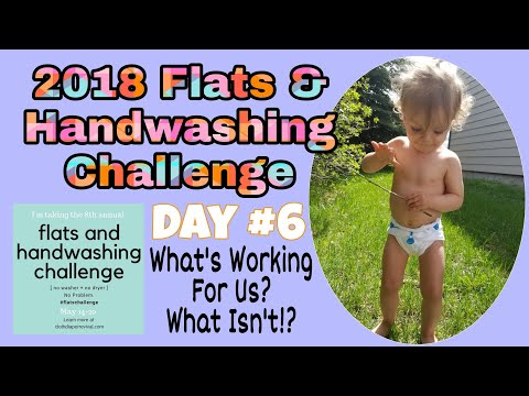 Day # 6- What's Working? What Isn't? Flats And Handwashing Challenge 2018