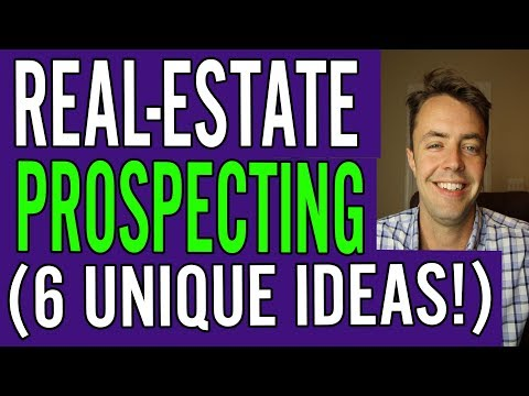 Real-Estate Agent Prospecting (6 Ideas NOBODY Uses)