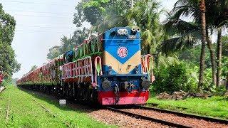 Grand Opening of Dhaka to Benapole New Train || Non-stop Benapole Express of Bangladesh Railway