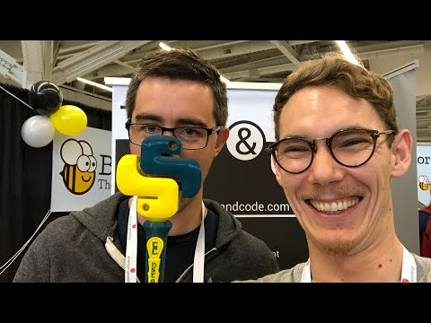 PyCon 2018 Vlog 06 – Structuring Python Projects & Open-Source (with Anthony Shaw)