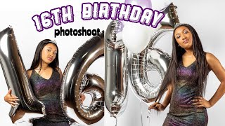 Download 16TH BIRTHDAY PHOTOSHOOT GRWM & VLOG| ft. Beauty Forever Hair| Saria Raine Video