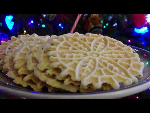 Gluten Free Pizzelles - Anise Flavored