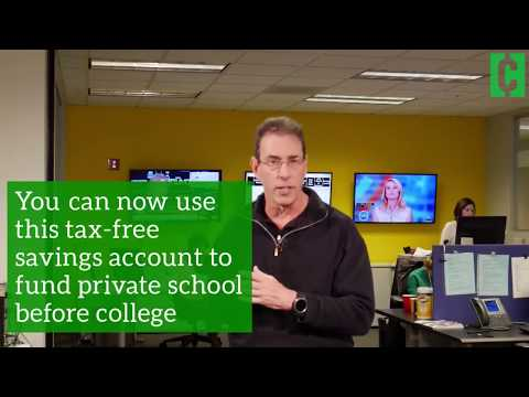 Changes to 529 college savings funds
