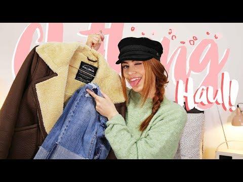 CLOTHING HAUL | PULL & BEAR  H&M | MsRosieBea