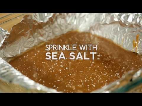 Easy Sea Salt Vanilla Caramels