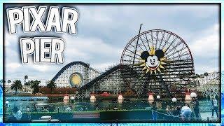 Pixar Pier Construction Update 2-12-2018 @ Disney