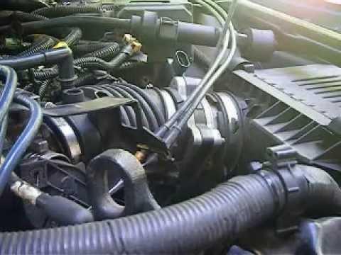 Throttle Body remove LA1 motor Impala\Monte Carlo 2000 - 2005