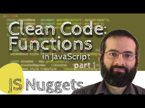 Clean Code: Functions (Part 1)