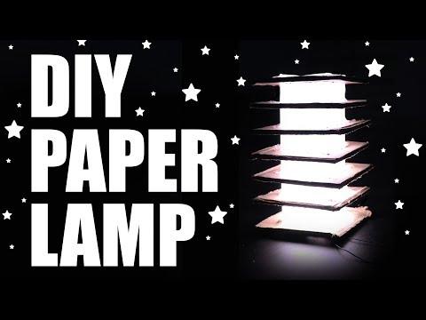 How To Make Diy Led Waste Paper Lantern Lamp For Dussehra Diwali easy