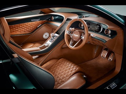 Bentley EXP 10 Speed 6 Concept - Geneva Motor Show 2015