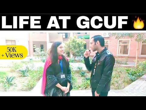 GCUF (BS/BSc) Complete Process Of Online Registration For