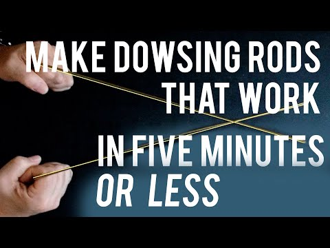 How to Make Dowsing Rods for Ghost Hunting