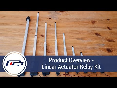 Micro Linear Actuators - 9 Different Stroke Lengths