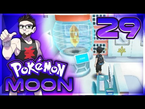 Let's Play Pokémon Sun and Moon! How to Assemble Zygarde Using Zygarde Cells! - Episode 29