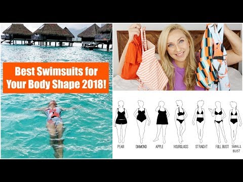 Best Swimsuits for Your Body Shape 2018 + My Favorite Swimsuits You'll Want Too!