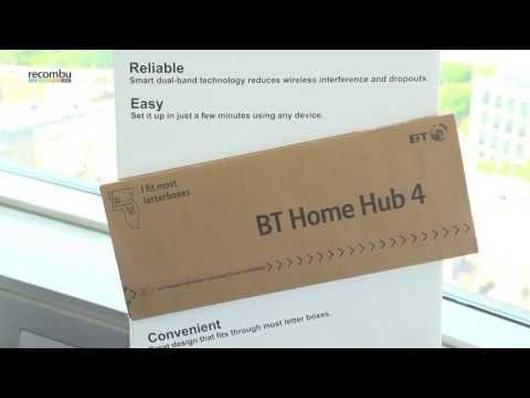 BT Home Hub 4: Hands-on video