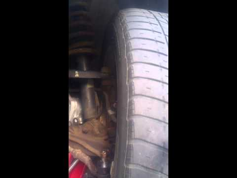 How to check ball joints (lower)