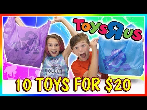 20 DOLLAR TOYS R US CHALLENGE | We Are The Davises