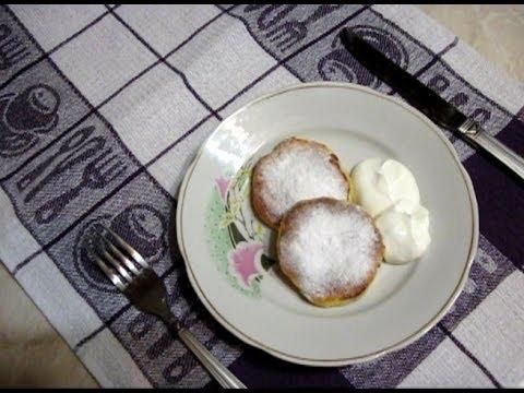 How To Make Syrniky (Cheesecakes) With Raisins. Ukrainian Recipe - Simple & Quick Homemade Recipe